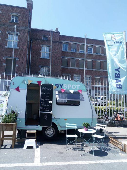De BabySpot-caravan staat op de Gentse Feesten!